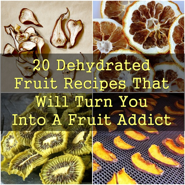Awesome Dehydrated Fruit Recipes