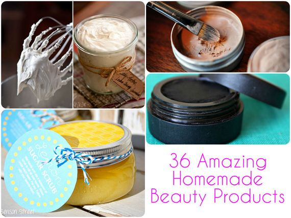 Amazing Homemade Beauty Products