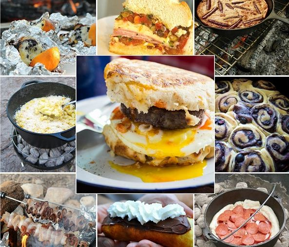 The Best Camping Trip Recipes Ever