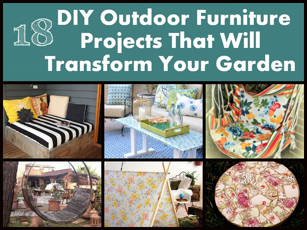 Awesome DIY Outdoor Furniture Projects