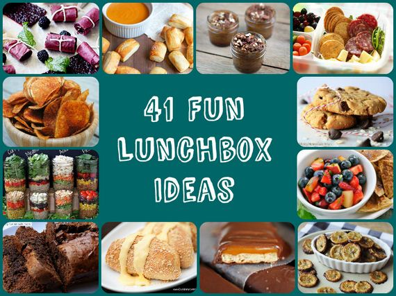 Cool and Fun Lunchbox Ideas