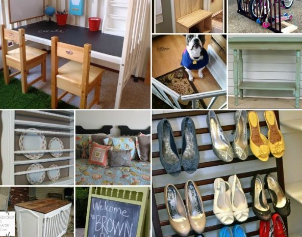 Creative Ways to Repurpose Old Cribs