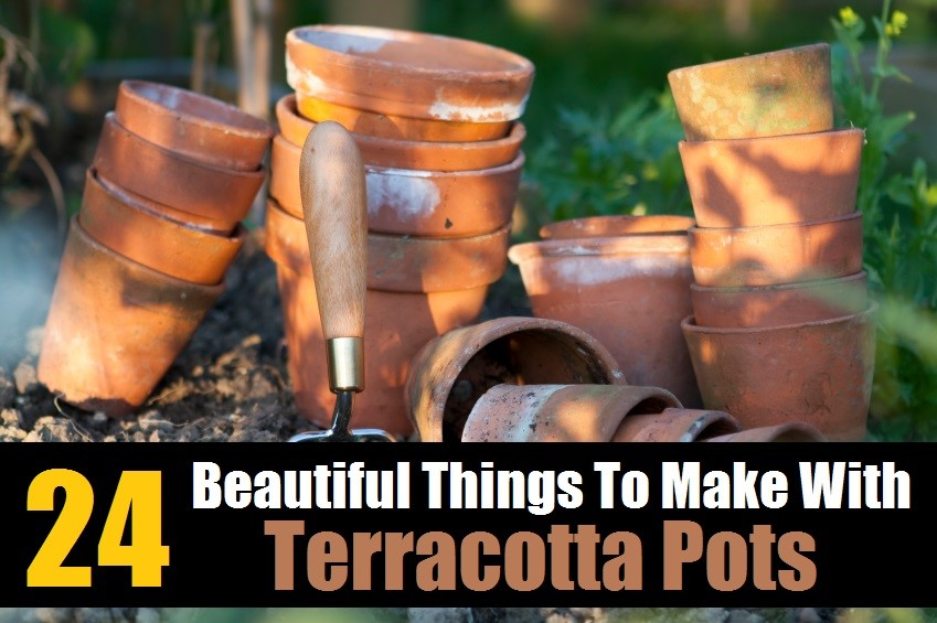 Amazing Things To Make With Terracotta Pots