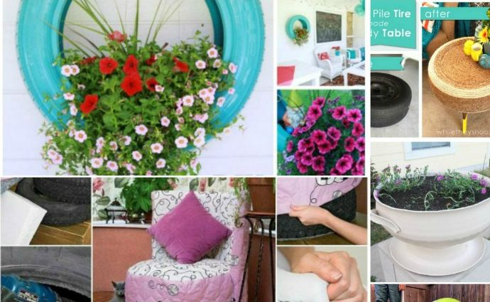 Awesome Ways to Repurpose Old Tires