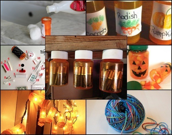 How to Upcycle Empty Pill Bottles
