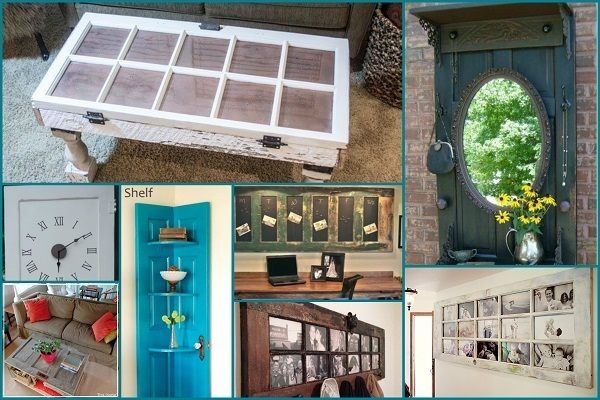 Amazing Ways To Upcycle Old Doors