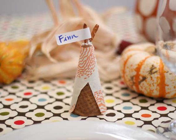 Awesome place cards diy ideas for thanksgiving for Diy place card holders for thanksgiving