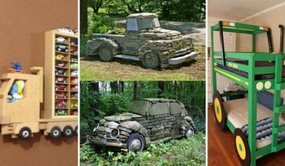 Amazing DIY Truck or Tractor Home Projects