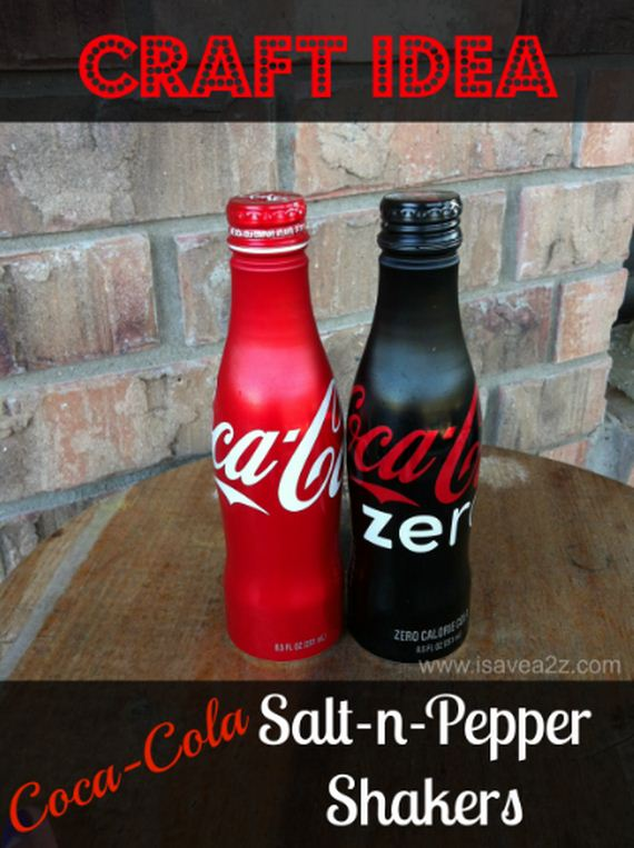Crafts Using Salt And Pepper Shakers
