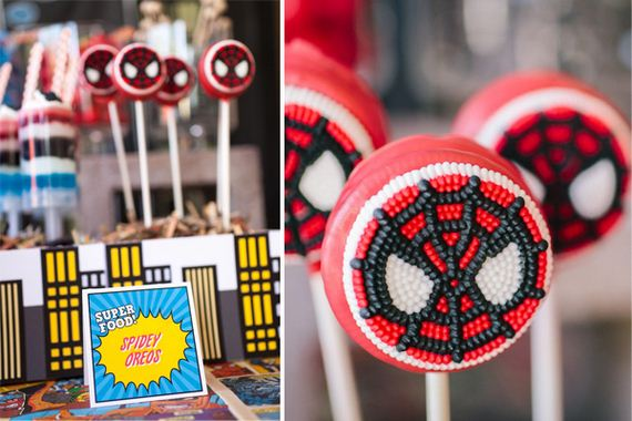 Cool Spiderman Party Food Ideas
