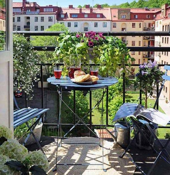 Amazing Small Balcony Garden Ideas