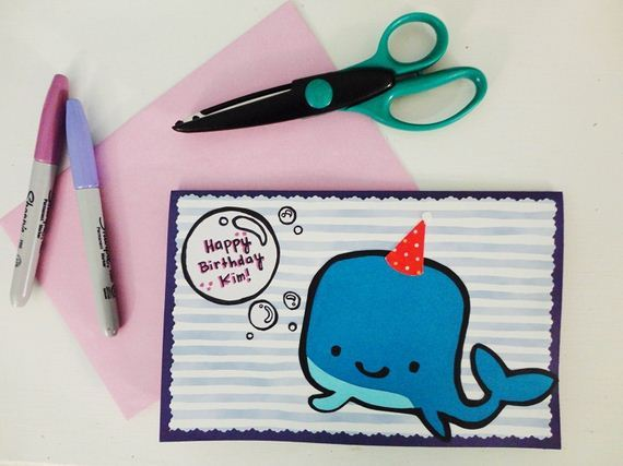 06 Cute DIY Birthday Card Ideas