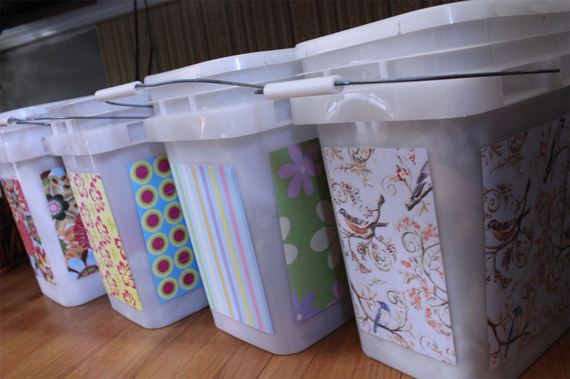 How to Repurpose Kitty Litter Containers