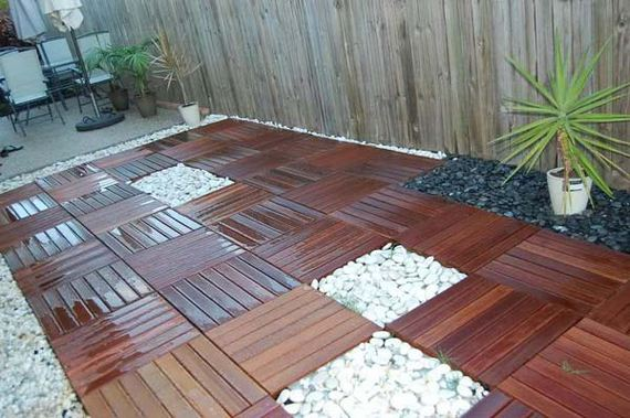 08-decorate-outdoor-space-with-wooden-tiles