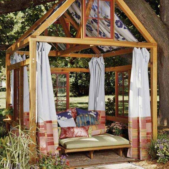08 DIY Backyard Pergola