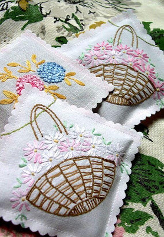 DIY Vintage Linens