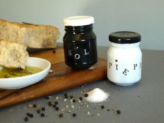 DIY Salt and Pepper Shaker Ideas