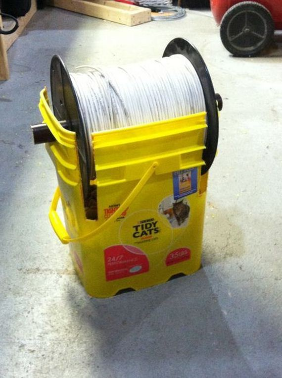 Diy Wire Spool Rack Clublifeglobal Com