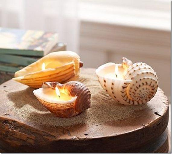 DIY Sea Shells Crafts