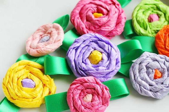 DIY Tissue Paper Crafts