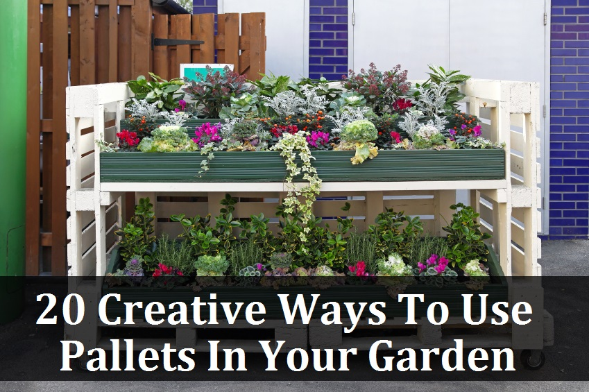 awesome ways to use pallets in your garden - Garden Ideas Using Pallets