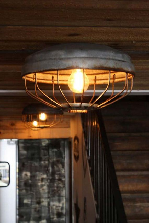 Awesome ideas to repurpose chicken feeders for Diy chicken feeder light