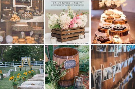 Amazing Rustic Wedding Ideas