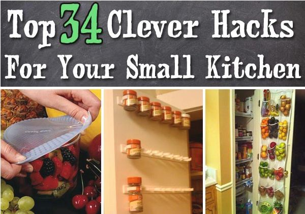Cool Hacks for Small Kitchens