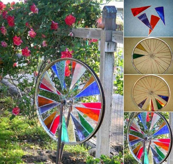Junk Garden Ideas 2018 Edition: Awesome DIY Ways Of Reusing Old Bike Wheels