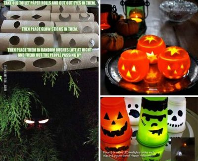 Cool DIY Lights for Halloween Night