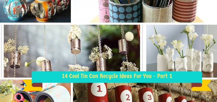 How To Reuse Empty Tin Can