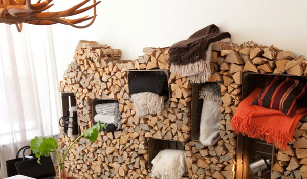 Amazing Firewood Storage Focal Points