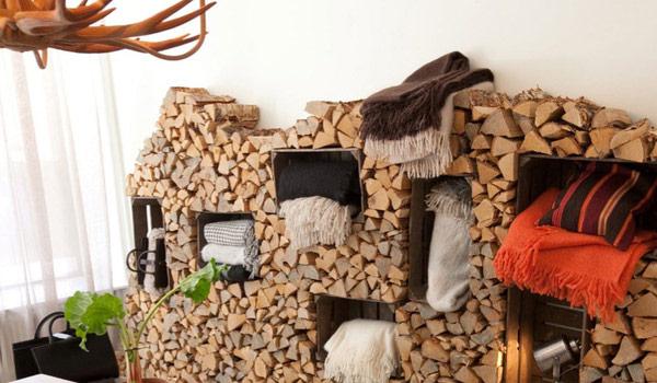 Amazing Firewood Storage Focal Points