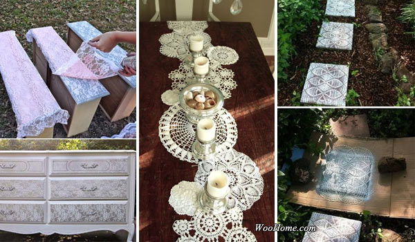Amazing DIY Lace Tutorials