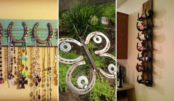 Lucky horseshoe crafts for Horseshoe arts and crafts