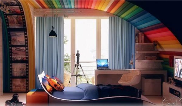 amazing rainbow home d 233 cor ideas