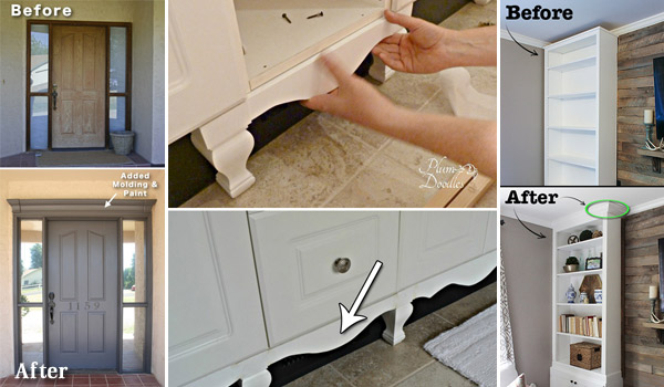 How to Dress Up Your Home with Molding