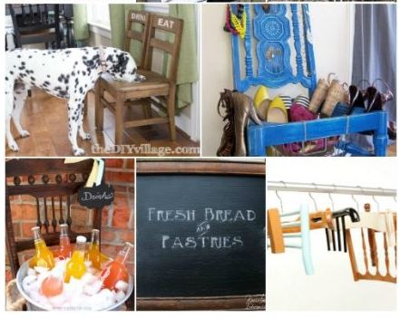 Awesome DIY Ways To Repurpose Old Chairs