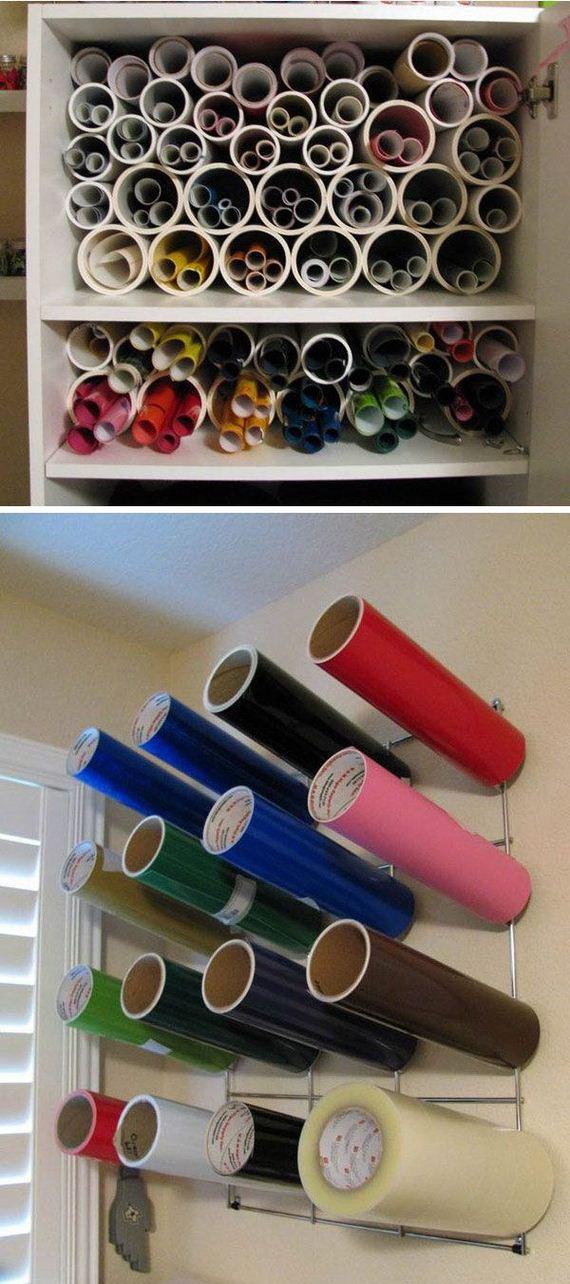 Homemade Pvc Pipe Storage Tutorials
