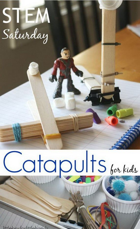 Catapult Craft For Kids: Amazing DIY Catapult Projects For Kids