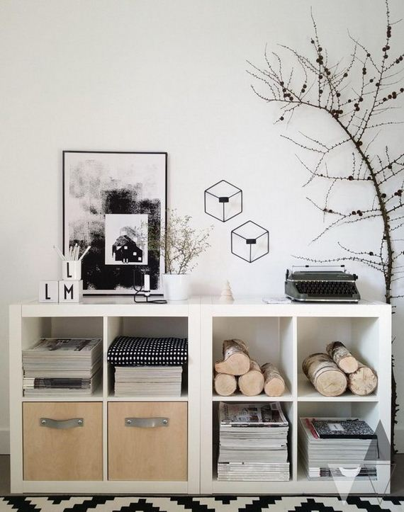 26-ikea-kallax-expedit-shelf-hacks