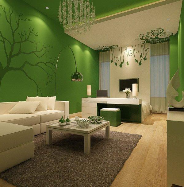 Wonderful 35 Living Room Colors. Emerald Green Living Room