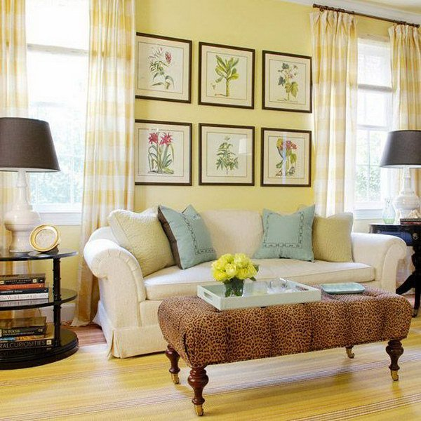 72 Living Room Colors