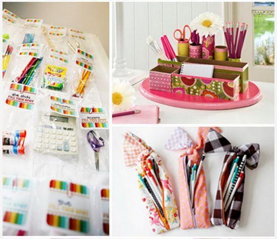 DIY School Crafts for Kids