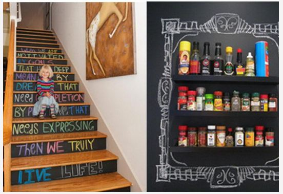 Amazing Chalkboard Paint Ideas
