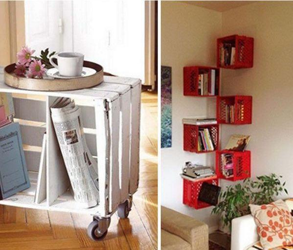 Milk and Wooden Crates DIY Tutorials