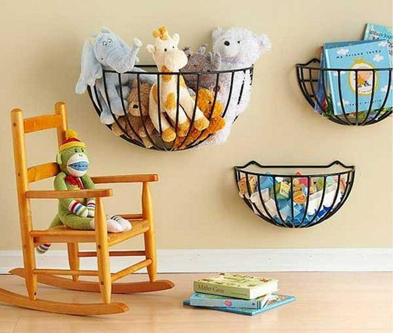 Amazing Ways to Organize Kids' Stuffed Toys