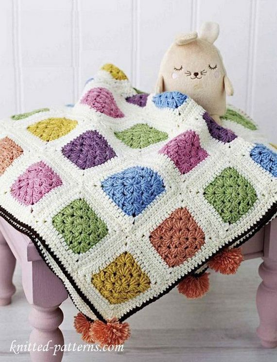 Easy Crochet Blankets Patterns