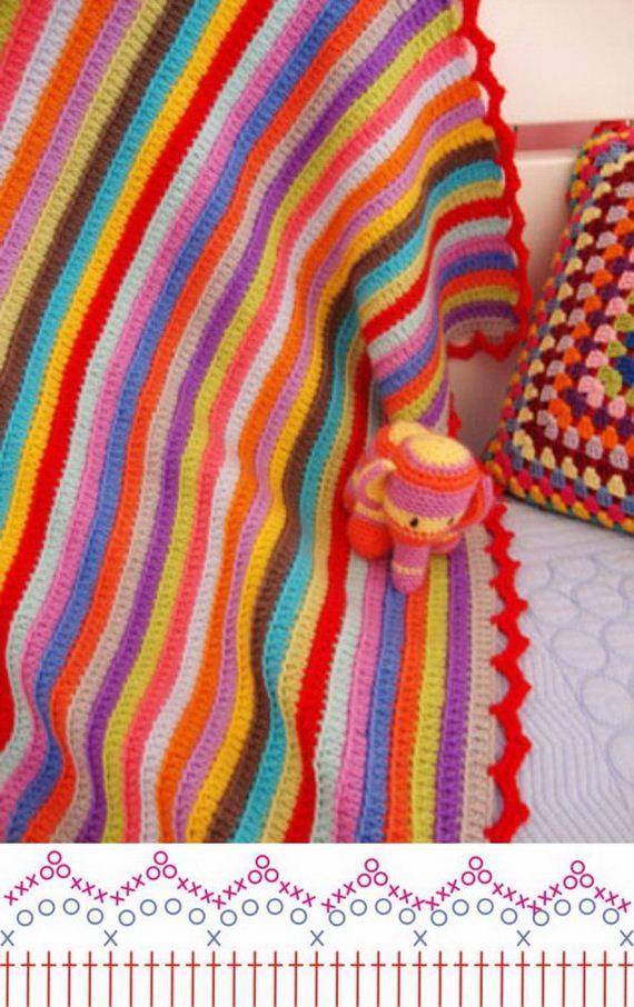 Simple Crochet Edging Patterns : Amazing Crochet Edging Patterns