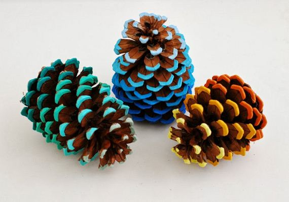 Adorable Fall Pine Cones Crafts